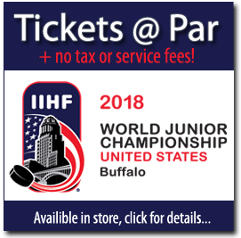 World Junior Hockey Tickets