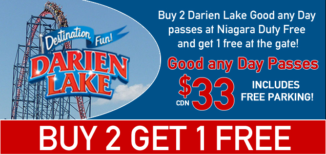 Darien Lake Tickets, Fantasy Island tickets