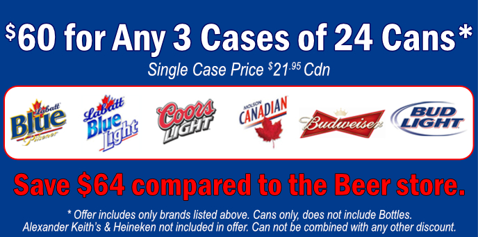 Discount Labatt Beer